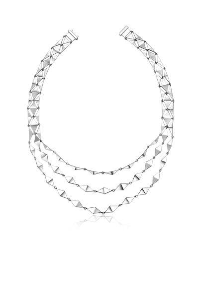 Pianegonda - Sterling Silver Planus Arcana Necklace