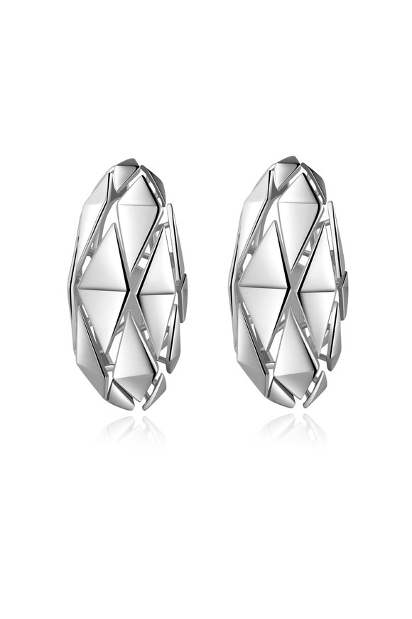 Pianegonda Sterling Silver Planus Earrings