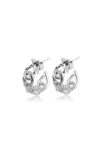Pianegonda - Sterling Silver Foedus Earrings