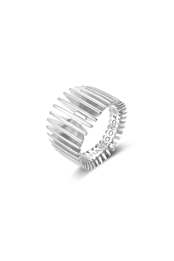 Pianegonda Sterling Silver Dorifora Ring