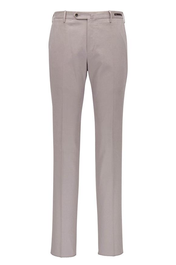 PT Torino Light Gray Slim Fit Pant