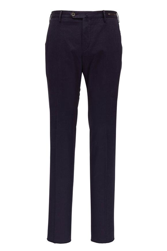 PT Pantaloni Torino Navy Blue Slim Fit Pant