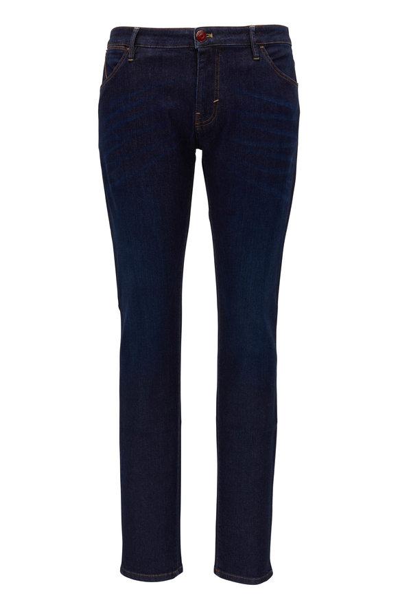PT Torino Dark Indigo Super Stretch Five Pocket Jean
