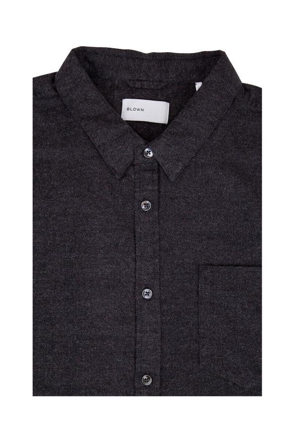 BLDWN Hansen Charcoal Gray Sport Shirt