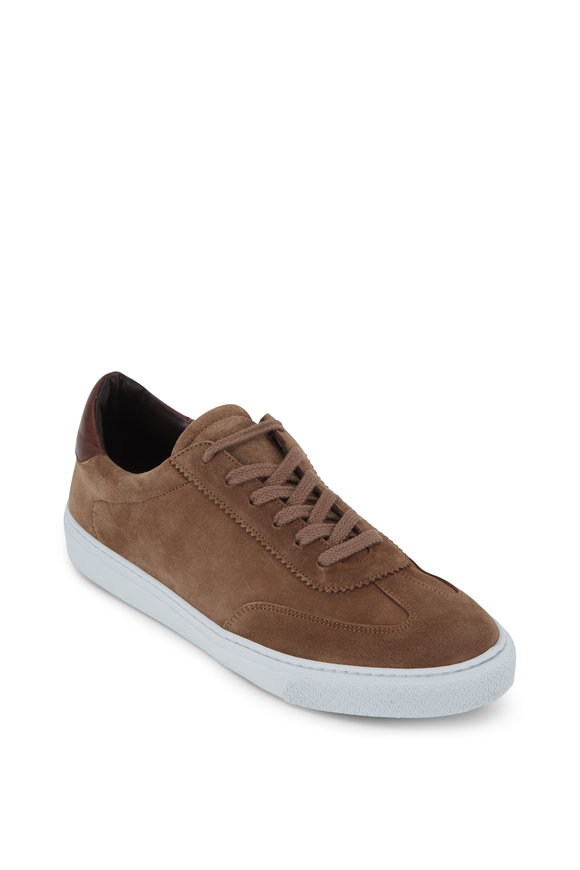 G Brown Flight 523 Taupe Suede Sneaker