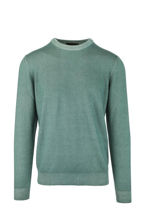 Altea Green Cashmere Sweater