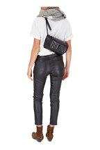 Saint Laurent - Niki Black Quilted Leather Shoulder/Belt Bag