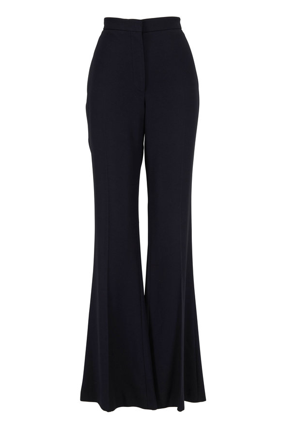 Alexander McQueen Black Sharp Flare Pant