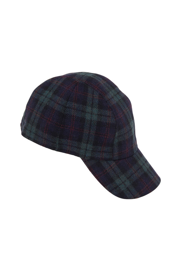 Wigens Blackwatch Green & Blue Hat