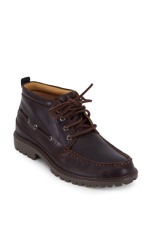Sperry Gold Cup Tan Authentic Original Lug Chukka Boot