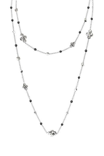 Paolo Costagli - White Gold Black Diamond Necklace