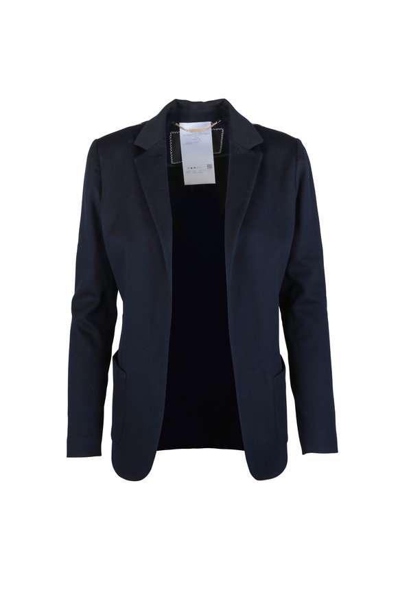 Kiton Navy Blue Cashmere Jacket