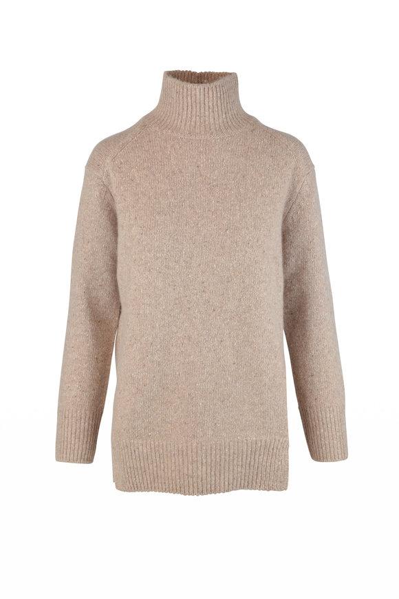 Vince Camel Cashmere Turtleneck Sweater