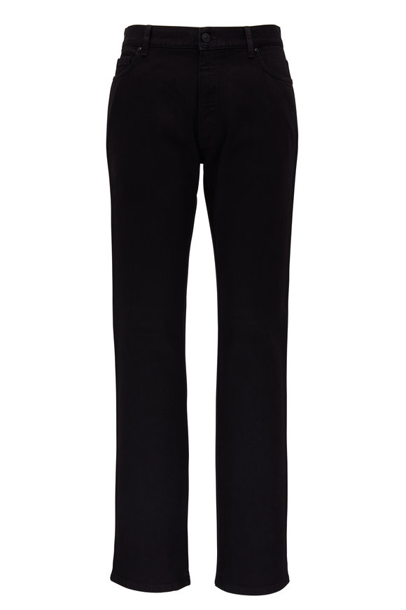 Ermenegildo Zegna Dark Black Five Pocket Jean