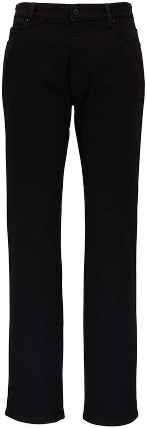 Ermenegildo Zegna Dark Black Five Pocket Jean