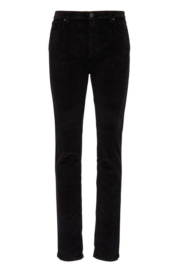 Monfrere Brando Noir Five Pocket Velvet Jean