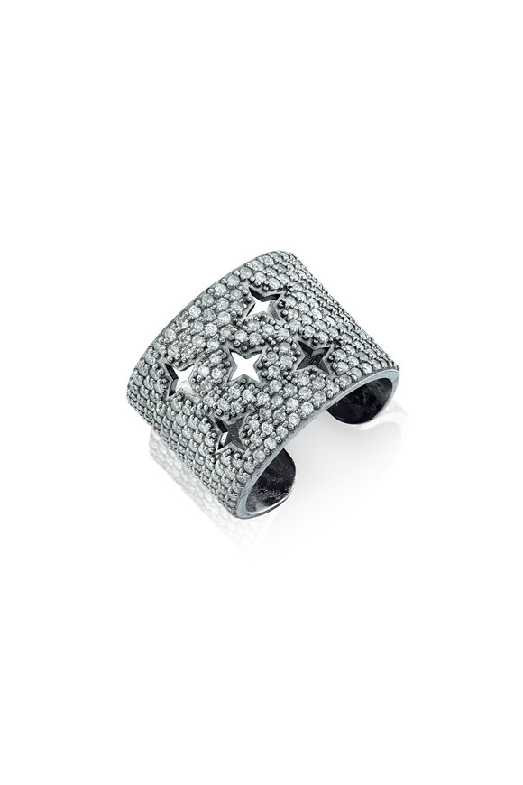 Sheryl Lowe Star Cuff Ring