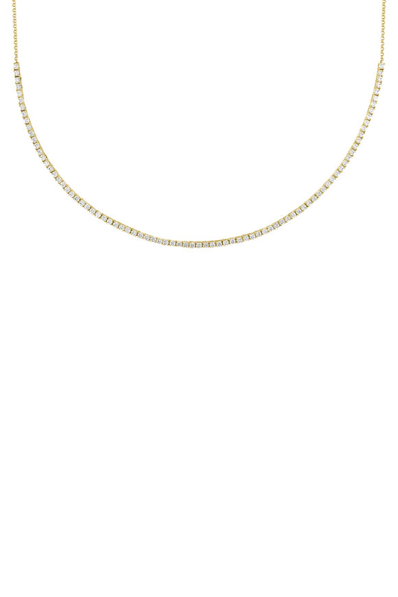 My Story Jewel 14K Yellow Gold Diamond Necklace
