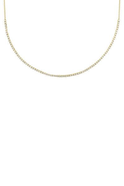My Story Jewel - 14K Yellow Gold Diamond Necklace
