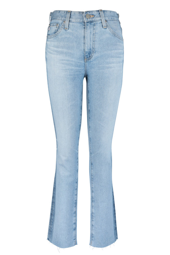 AG - Adriano Goldschmied Mari Light Blue Side Accent Jean