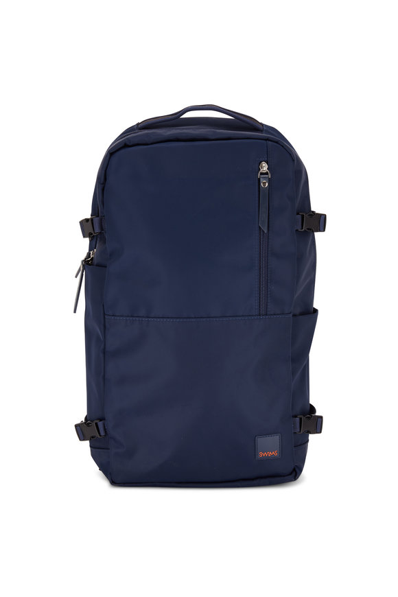 Swims Motion Navy Blue Nylon Backpack