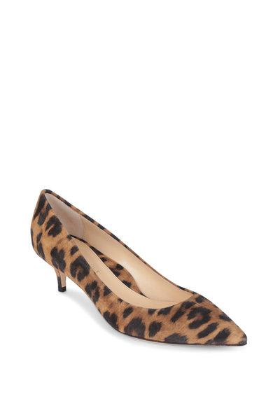 Marion Parke - Must Have Leopard Suede Pump,  45MM