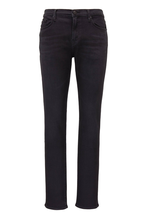 J Brand Tyler Washed Black Seriously Soft Slim Fit Jean