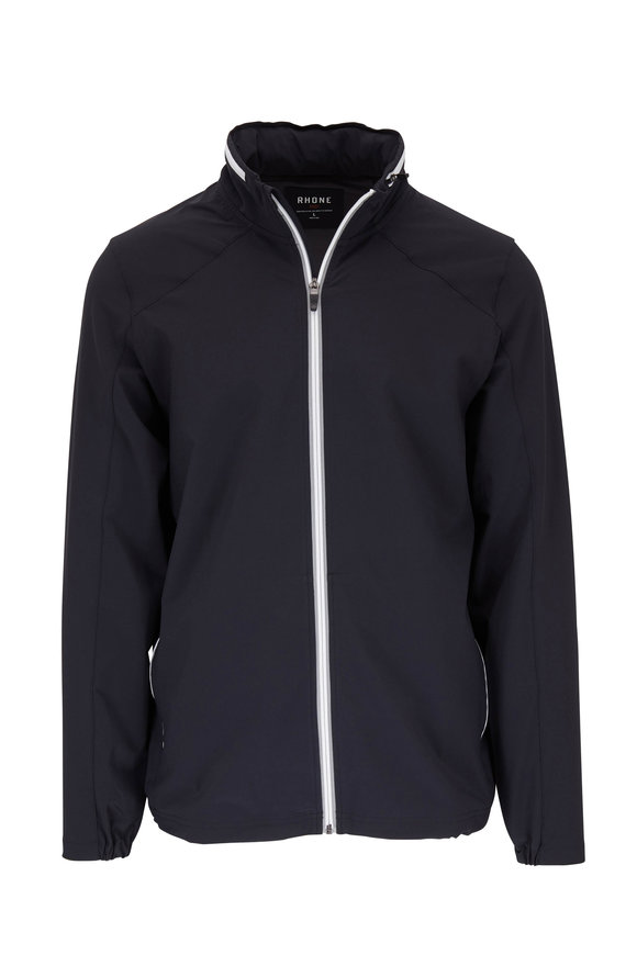 Rhone Apparel Relay Black Track Jacket