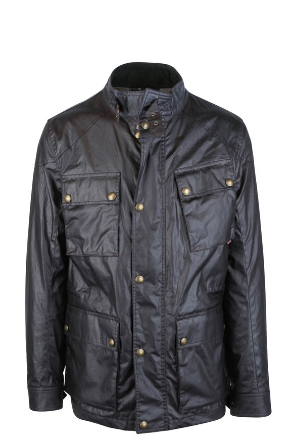 Belstaff Fieldmaster Rosewood Waxed Cotton Jacket