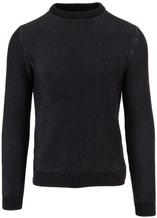 Incotex Gray Active Knit Crewneck Pullover