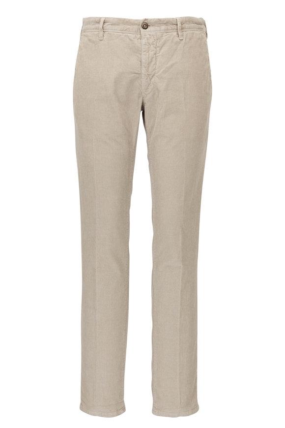 Incotex Mushroom Corduroy Slim Fit Pant