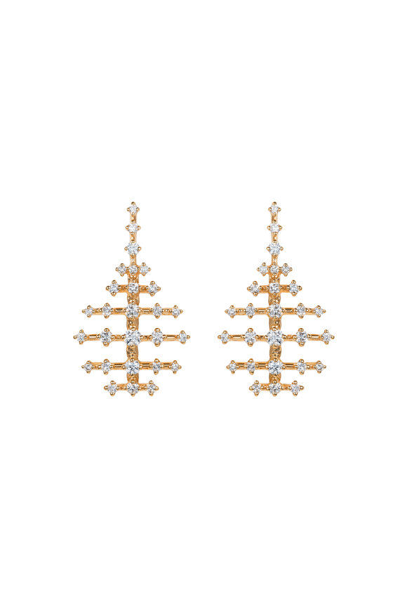Fernando Jorge 18K Yellow Gold Mini Disco Earrings