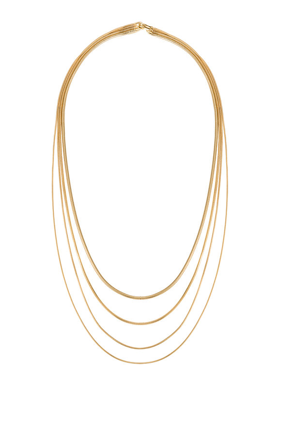 Fernando Jorge 18K Yellow Gold Multi Chain Necklace