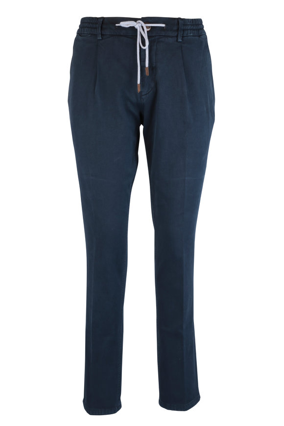Fradi Navy Blue Cotton Jogger Pant