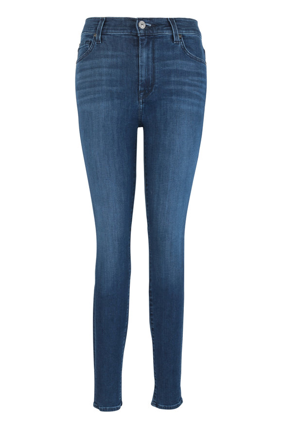 7 For All Mankind B(Air) Denim High Waist Skinny Jean