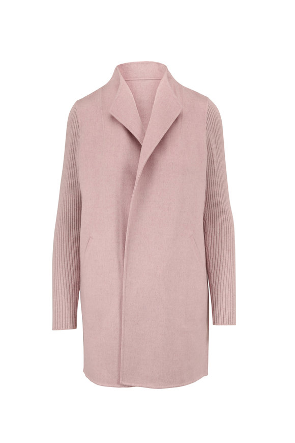 Kinross Quartz Wool & Cashmere Sweater Coat