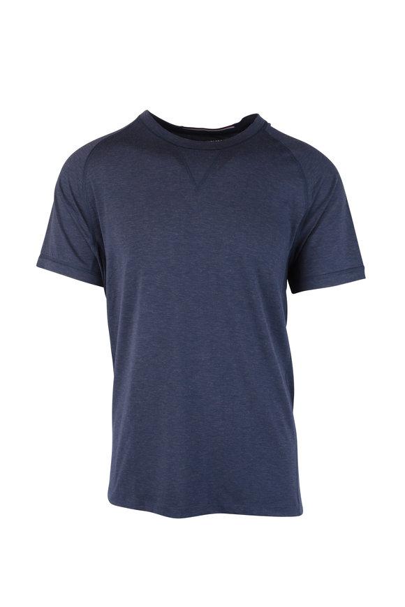 4 Laps Level Navy Short Sleeve Performance T-Shirt