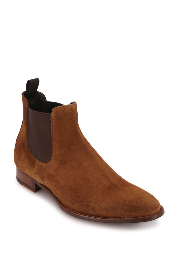 To Boot New York Shelby Brown Suede Chelsea Boot