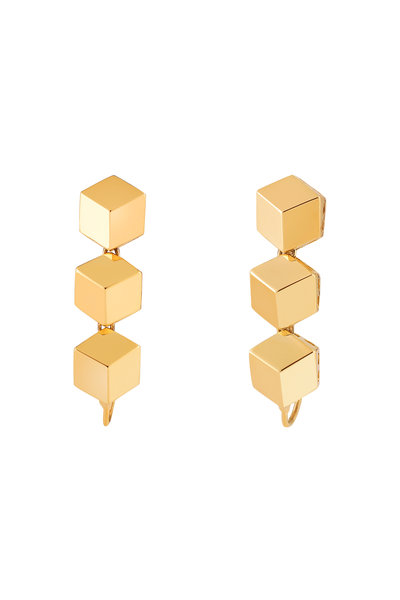 Paolo Costagli - 18K Yellow Gold Brillante Earring Toppers
