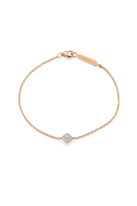 Paolo Costagli Rose Gold Natalie Diamond Bracelet