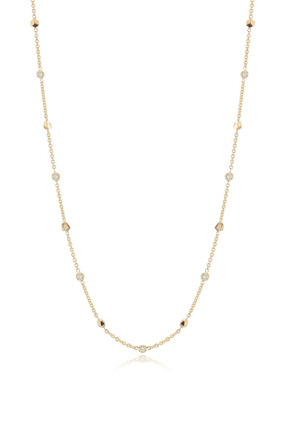 Paolo Costagli 18K Yellow Gold Brillante Diamond Necklace