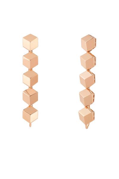 Paolo Costagli - Rose Gold Brillante Dangle Earrings