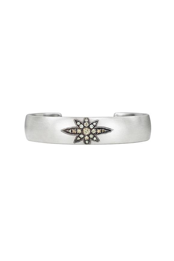 .925Suneera Sterling Silver Vintage Neve Cuff