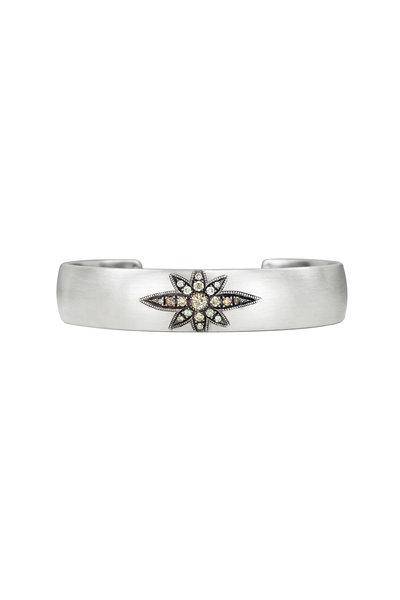 .925Suneera - Sterling Silver Vintage Neve Cuff