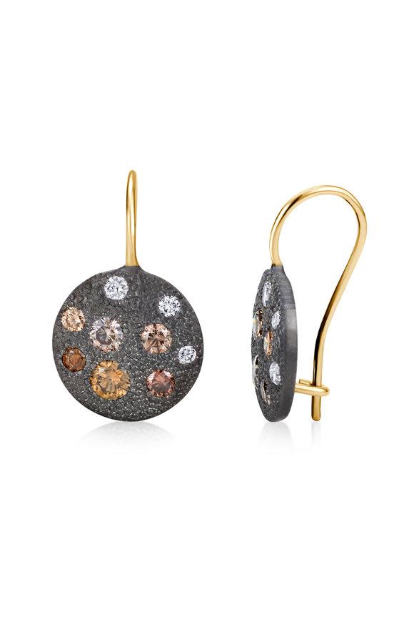 .925Suneera 14K Gold & Sterling Silver Carmen Diamond Earrings