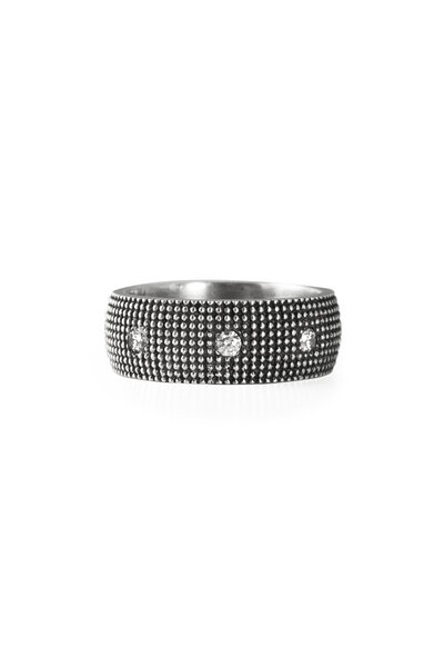 .925Suneera - Sterling Silver Eva Band