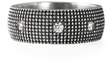 .925Suneera Sterling Silver Eva Band