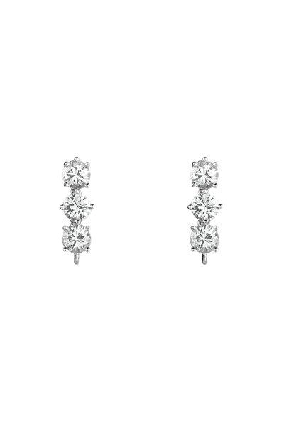 Paolo Costagli - White Gold White Sapphire Earrings