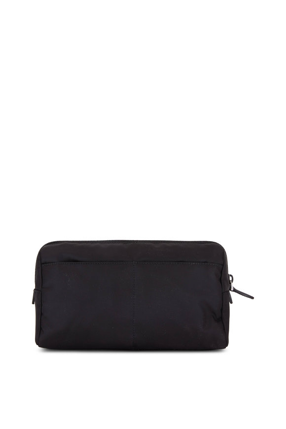 Prada Black Nylon Cosmetic Bag
