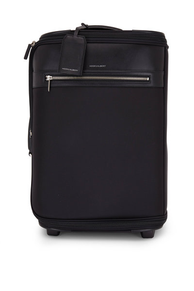 Hook + Albert - Black Carry-On Garment Bag Small Suitcase